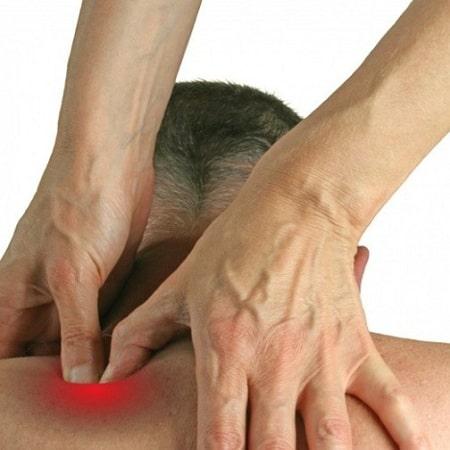 درمان نقاط ماشه ای شانه(گره های عضلانی)با تزریق مفصل شانه و ماساژ-