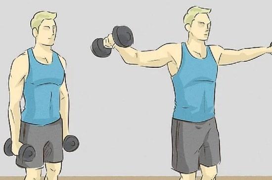 حرکت-سرشانه-با-دمبل-از-بغل-را-تمرین-کنید