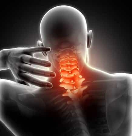 درد گردن و شانه ناشی از بیرونزدگی دیسک