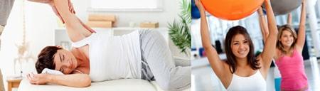 درمان صدا دادن مفصل شانه (استخوان کتف اسکاپولا) با فیزیوتراپی-