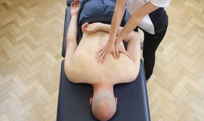 فیزیوتراپی گرفتگی عضلات کمر