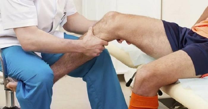فیزیوتراپی جهت رفع زانو درد
