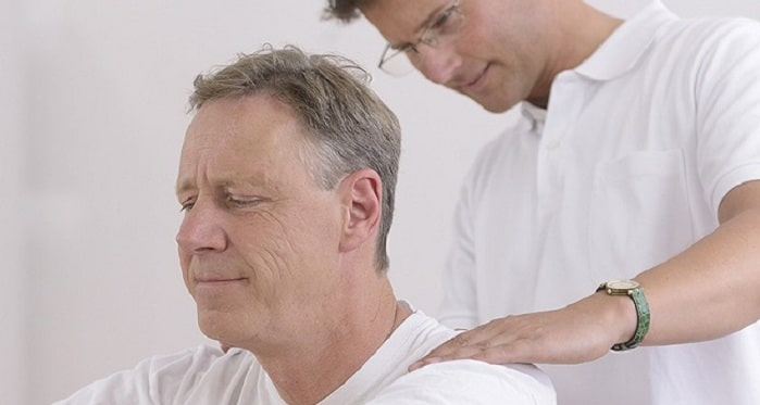 فیزیوتراپی برای درمان آرتروز گردن