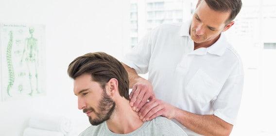 فیزیوتراپی برای درمان دیسک گردن