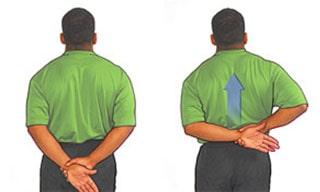 ورزش کششی و حرکات اصلاحی بورسیت شانه