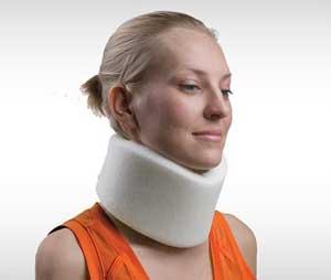 درمانشکستگی گردن