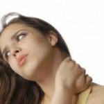 درد گردن با انتشار به دست