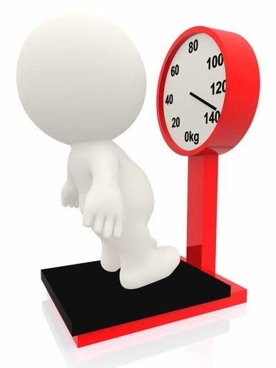 3D man overweight