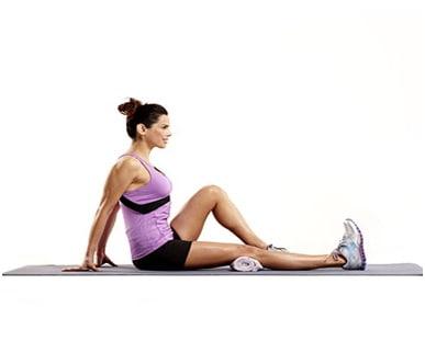 سفت کردن عضلات چهار سر ران