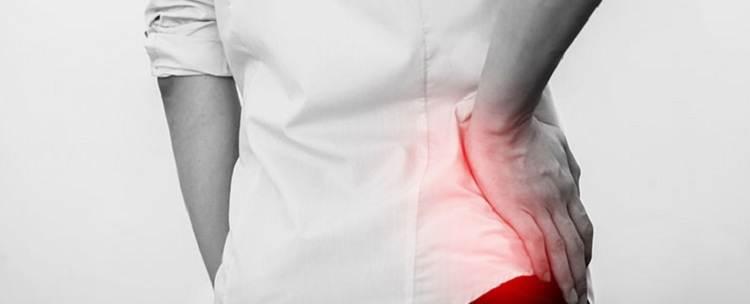 علت درد باسن (کفل)