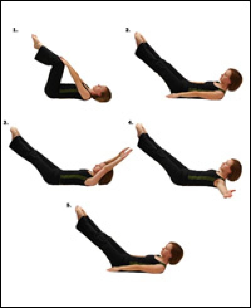 درمان درد دنبالچه با ورزش